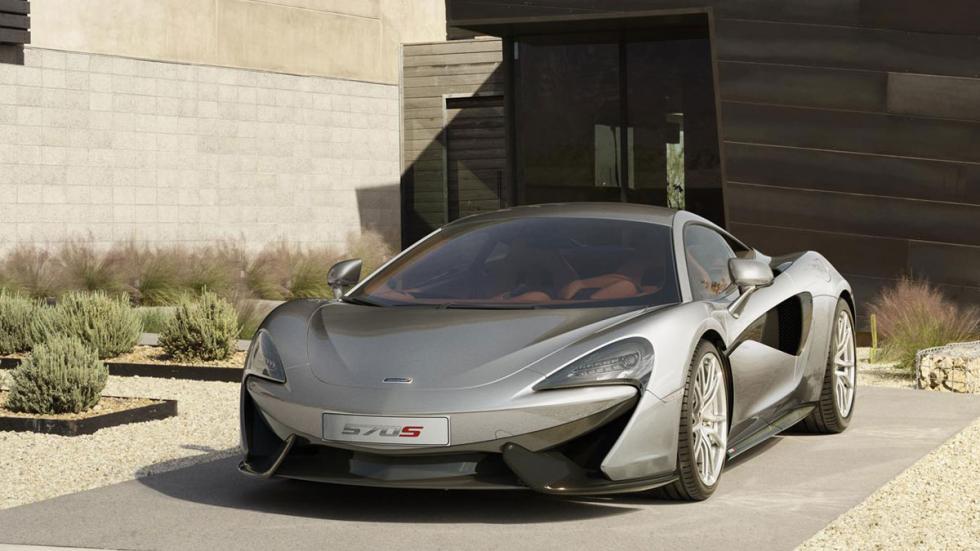 McLaren 570S frontal