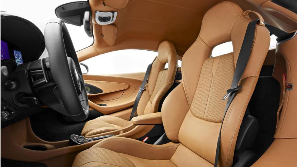 McLaren 570S asientos