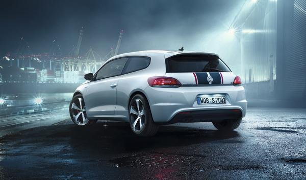 VW Scirocco GTS Trasera