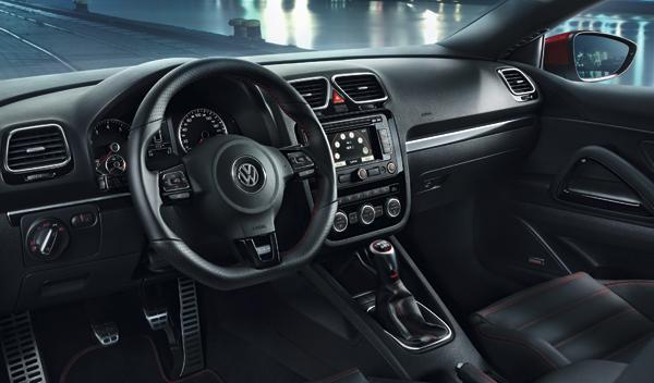 VW Scirocco GTS Interior