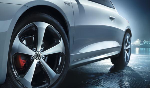 VW Scirocco GTS llanta
