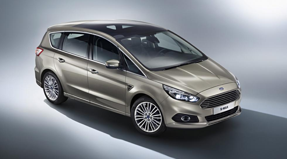 Ford S-Max techo