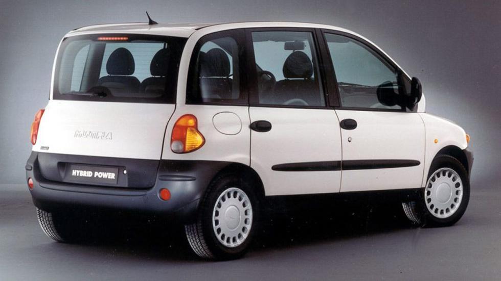 Fiat Multipla primera generación trasera