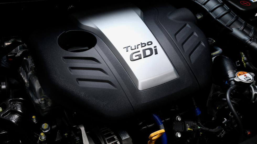 Hyundai i30 Turbo - motor