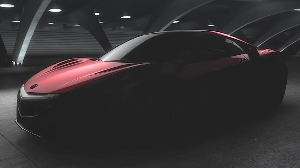 teaser Honda NSX 2015 tres cuartos lateral