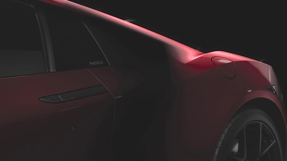 teaser Honda NSX 2015 detalle