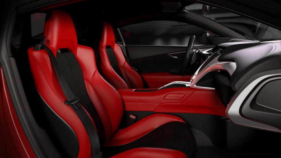 Honda NSX 2015 interior