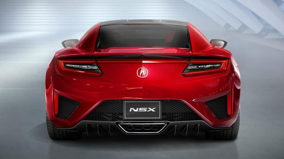 Honda NSX 2015 trasera