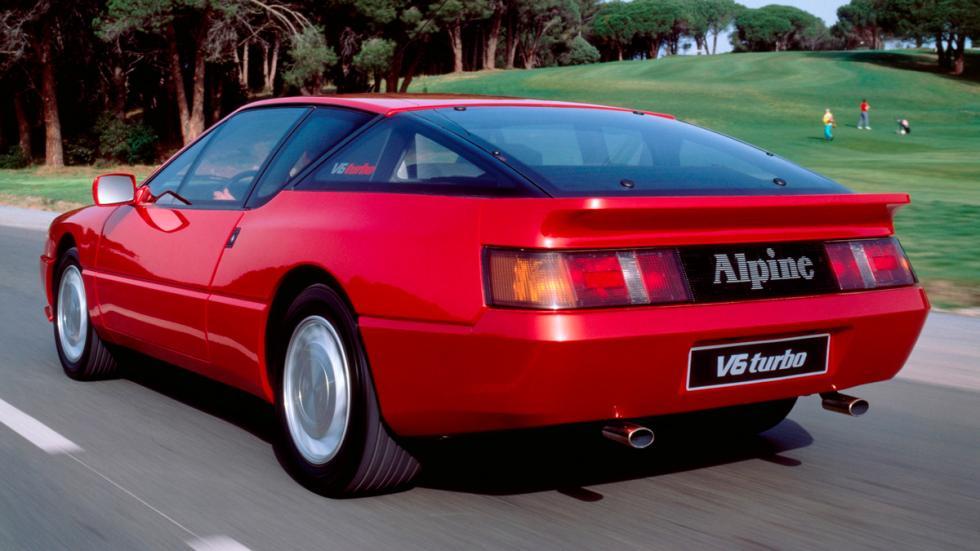 Renault Alpine V6 Turbo trasera