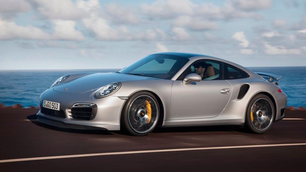 Porsche 911 Turbo S delantera