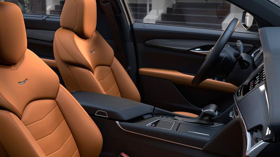Cadillac CT6 asientos