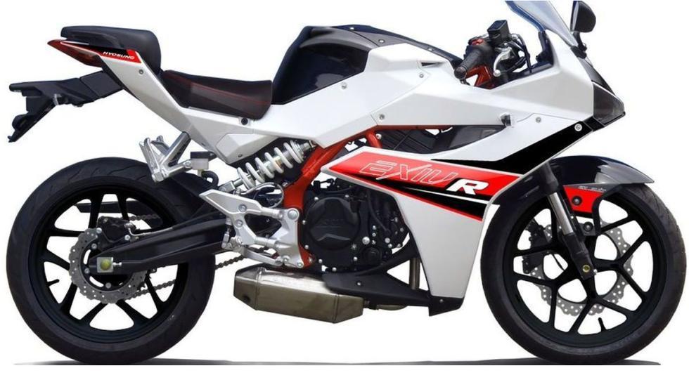Hyosung GD250R, con motor de 250cc