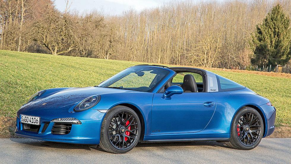 Prueba: Porsche 911 Targa GTS estática