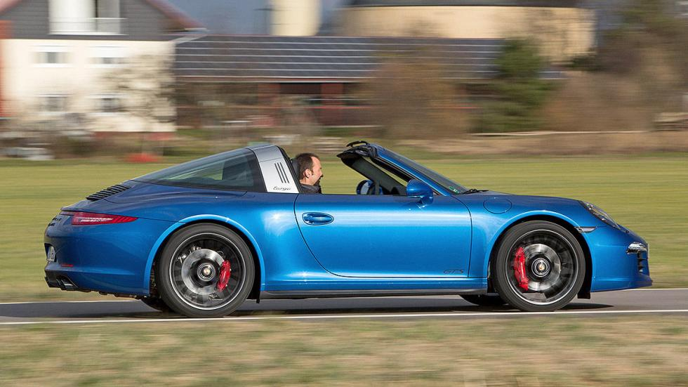 Prueba: Porsche 911 Targa GTS barrido