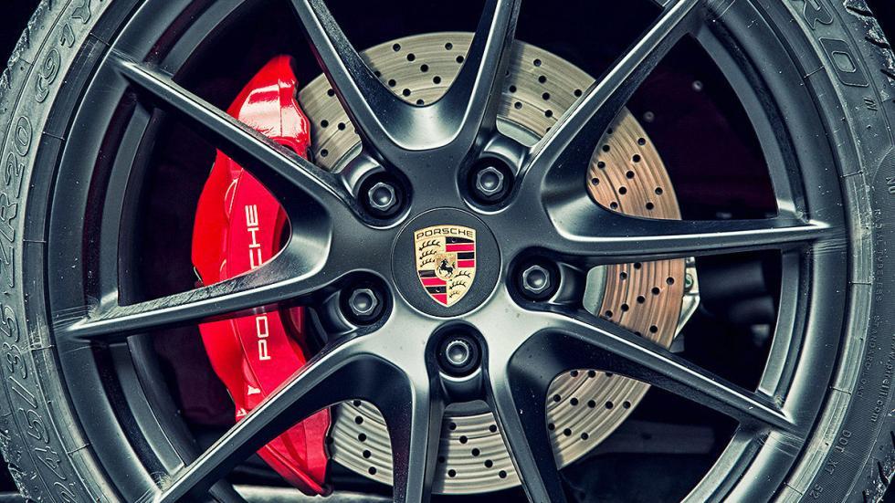Prueba: Porsche 911 Targa GTS llanta