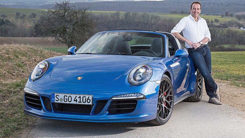 Prueba: Porsche 911 Targa GTS redactor