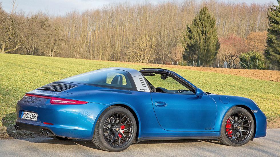 Prueba: Porsche 911 Targa GTS trasera