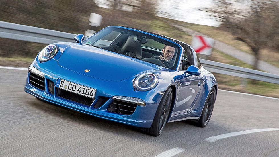 Prueba: Porsche 911 Targa GTS morro