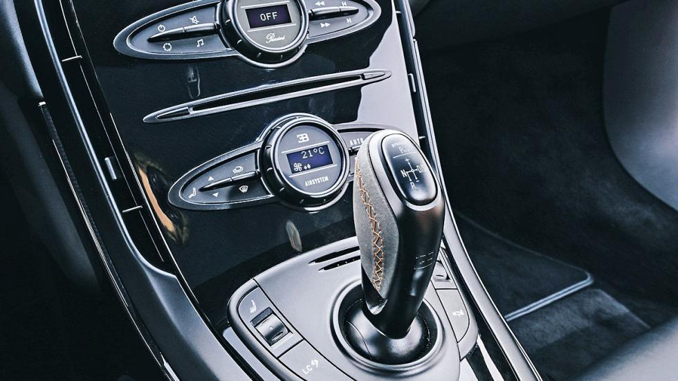 Prueba: Bugatti Veyron 16.4 Grand Sport Vitesse interior cambio