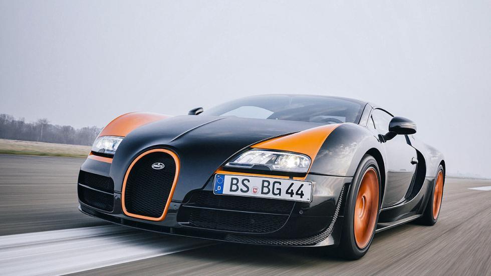 Prueba: Bugatti Veyron 16.4 Grand Sport Vitesse morro