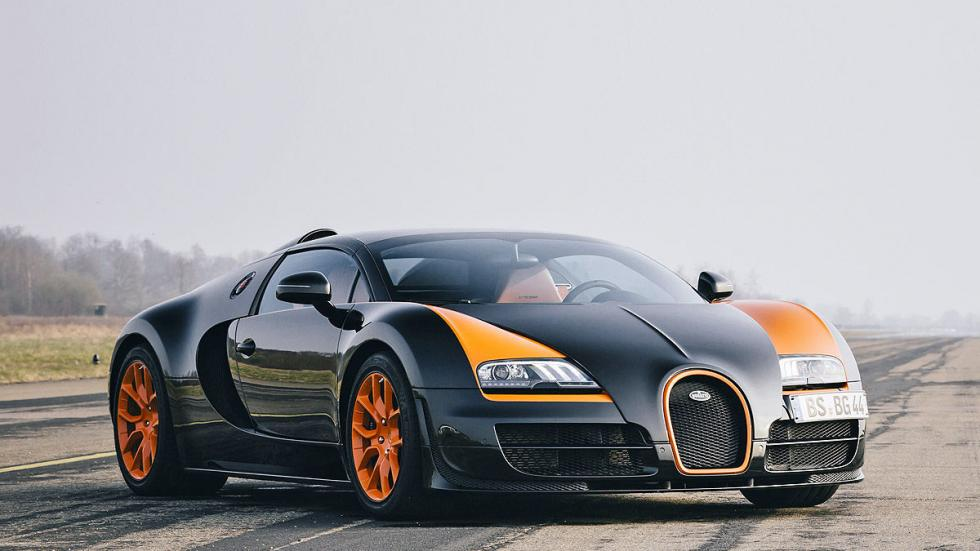 Prueba: Bugatti Veyron 16.4 Grand Sport Vitesse morro tres cuartos
