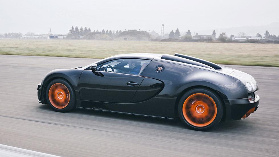 Prueba: Bugatti Veyron 16.4 Grand Sport Vitesse lateral