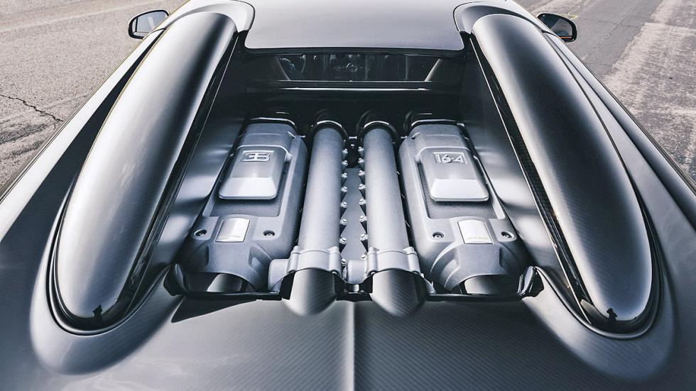 Prueba: Bugatti Veyron 16.4 Grand Sport Vitesse motor