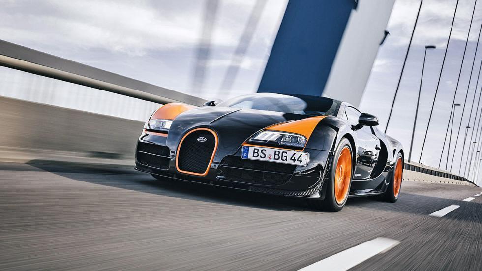 Prueba: Bugatti Veyron 16.4 Grand Sport Vitesse puente