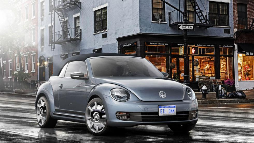Volkswagen Beetle Concertible Denim