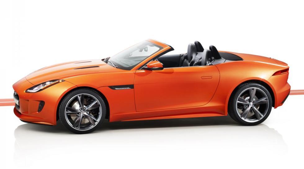 Jaguar F-Type Roadster lateral