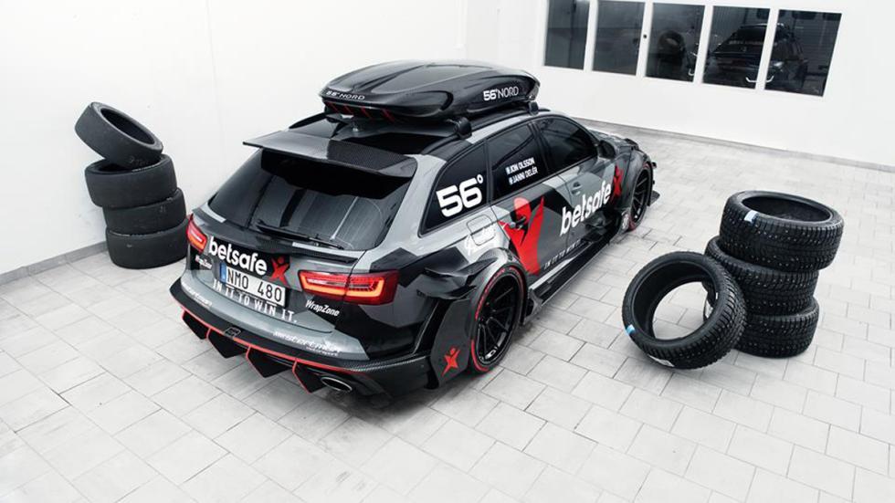 Audi-RS6-DTM-Jon-Olsson-trasera