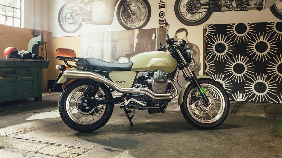 Customiza tu nueva Moto Guzzi V7