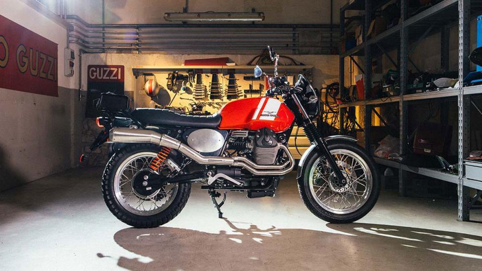 Garage Moto Guzzi y Dark Rider, Scrambler, Legend y Dapper