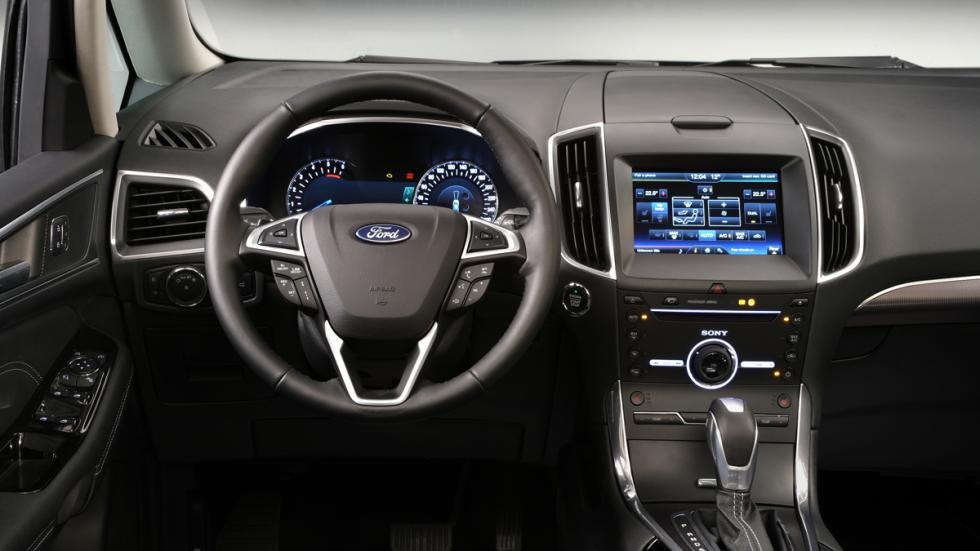 El Ford Galaxy más tecnológico - volante