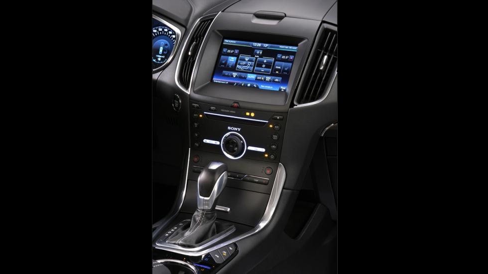 El Ford Galaxy más tecnológico - palanca de cambios