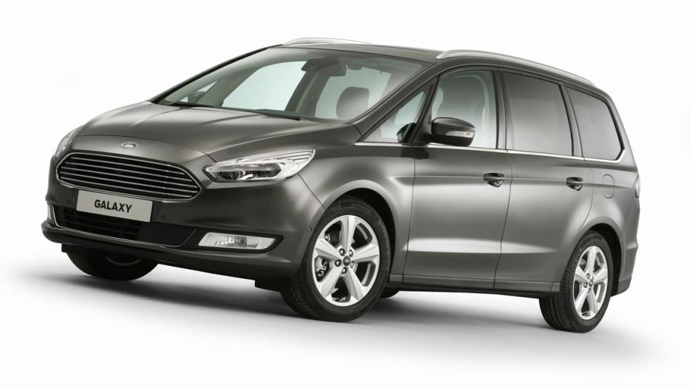 El Ford Galaxy más tecnológico - frontal