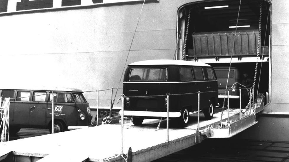 Volkswagen Bulli T1 fábrica