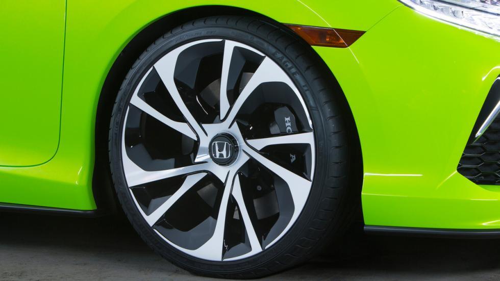 Honda Civic Concept rueda