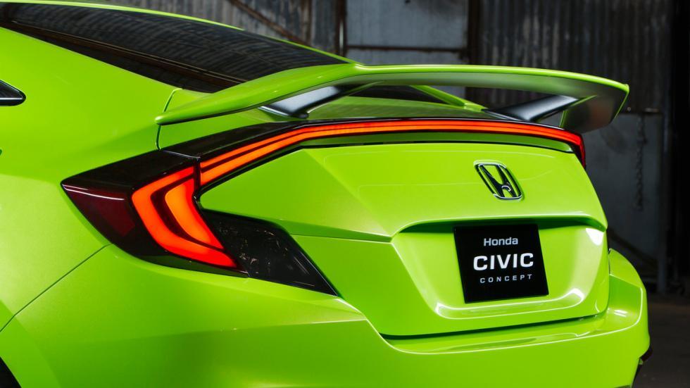 Honda Civic Concept alerón