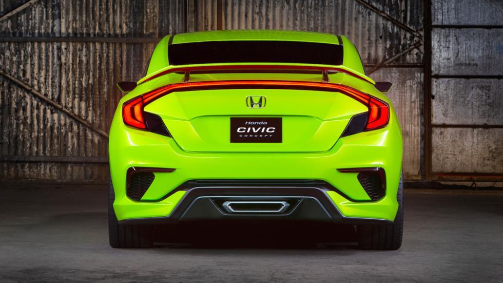 Honda Civic Concept trasera
