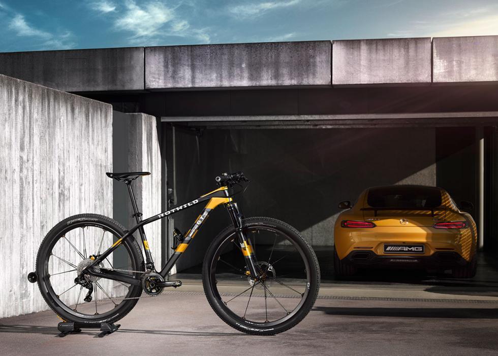 Bicicleta de montaña Mercedes-AMG Rotwild GT S