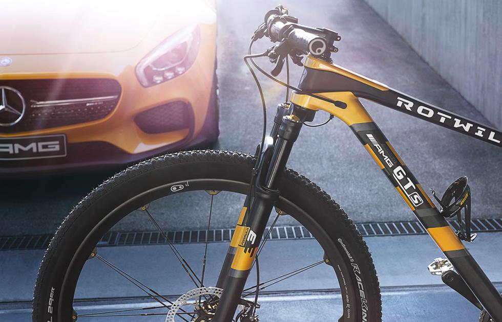 Bicicleta extrema Mercedes-AMG Rotwild GT S