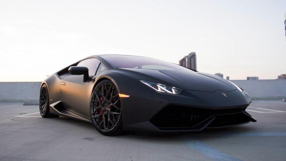 Lamborghini Huracan de GMG Racing frontal