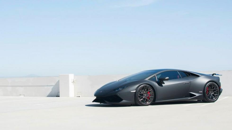 Lamborghini Huracan de GMG Racing de lado