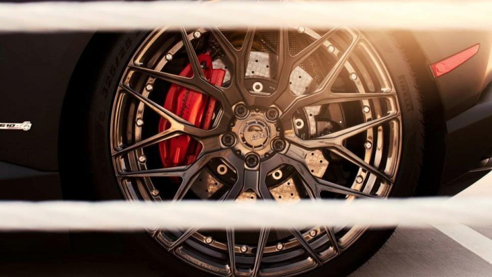 Lamborghini Huracan de GMG Racing llanta