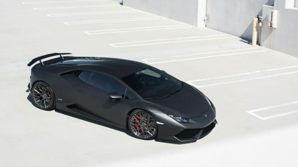 Lamborghini Huracan de GMG Racing zenital