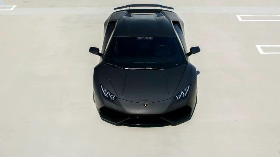 Lamborghini Huracan de GMG Racing zenital delantera