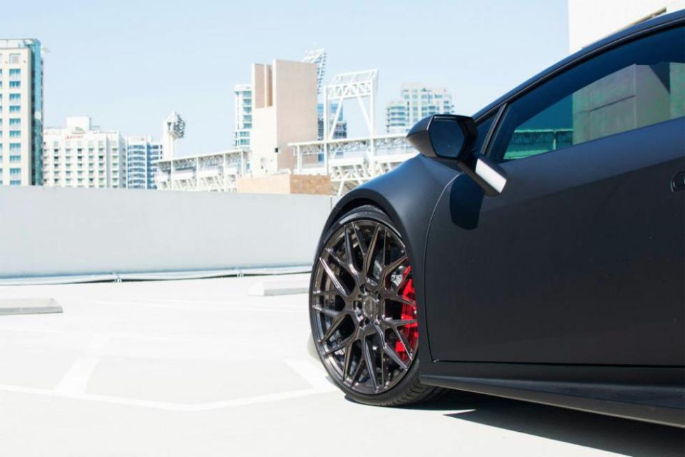 Lamborghini Huracan de GMG Racing retrovisor