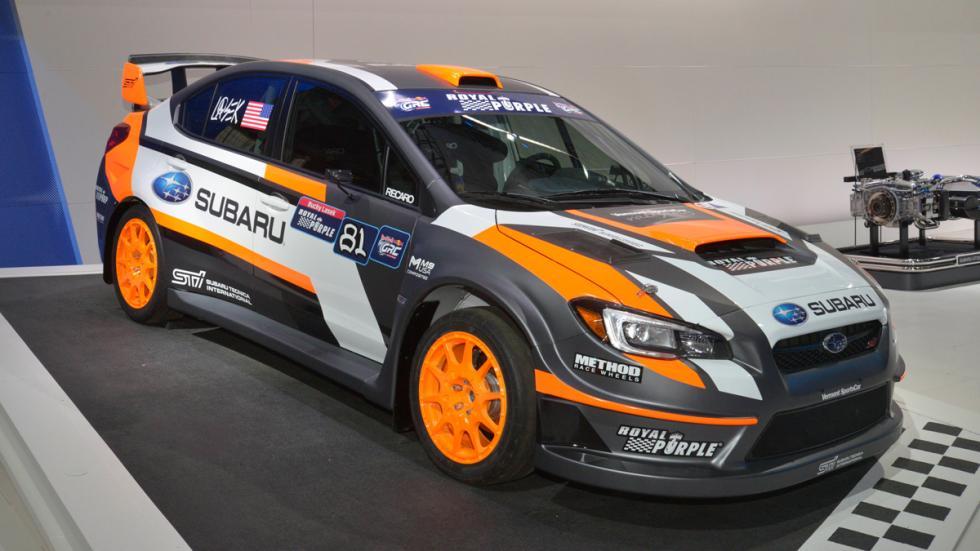 Subaru 2015 WRX STI rallycross car