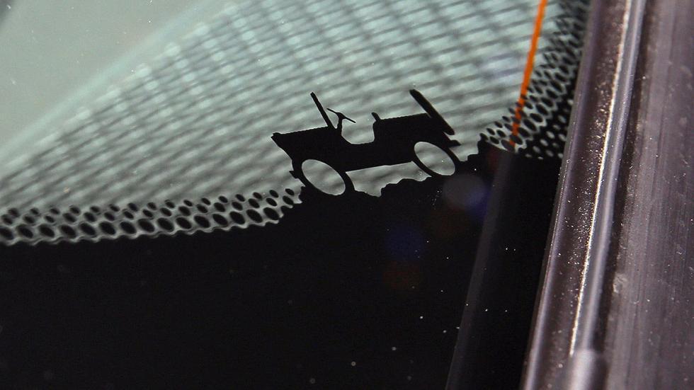 Detalle diseño Renegade coche jeep